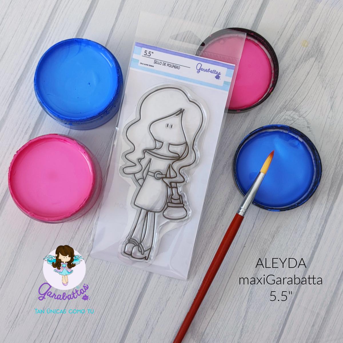 "5.5"" Stamp - Aleyda"
