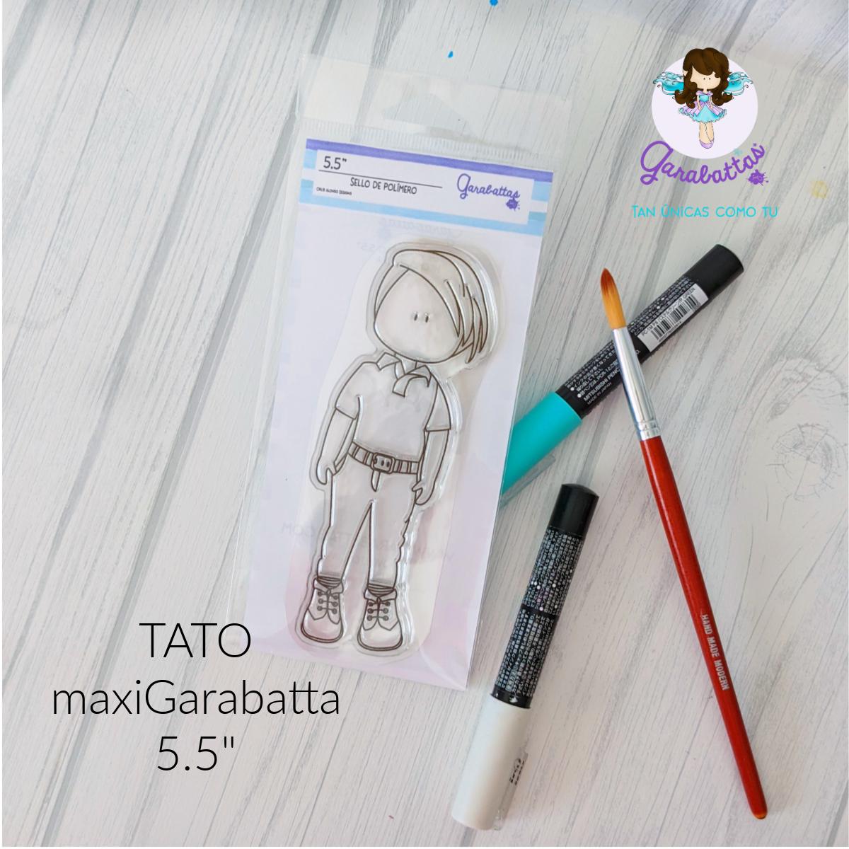 """5.5"""" Stamp - Tato"""