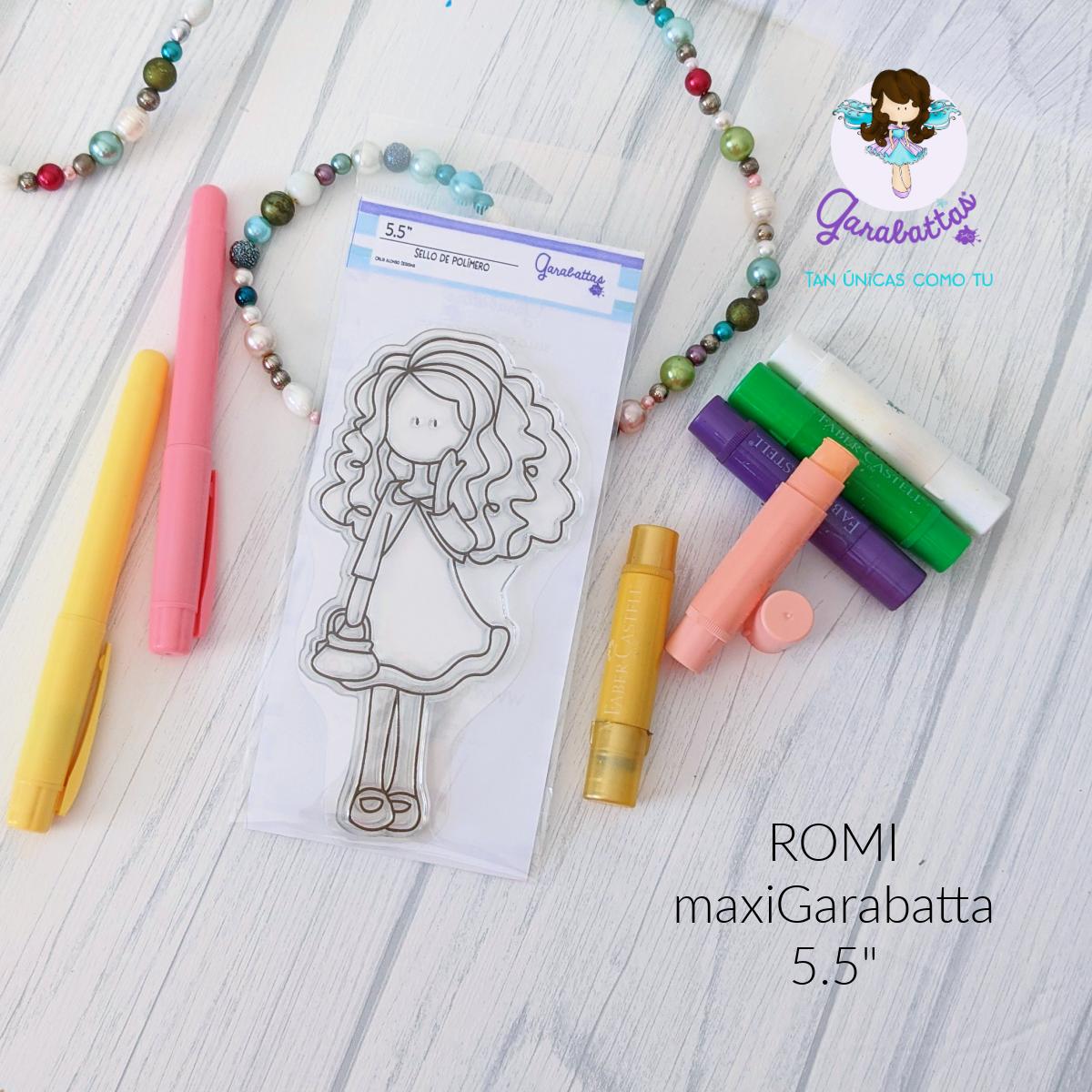 "5.5"" Stamp - Romi"