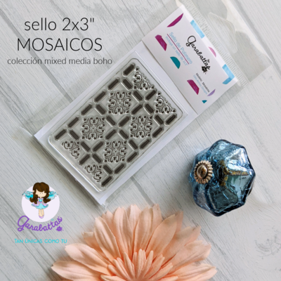 "Sello 2x3"" Set MOSAICOS"