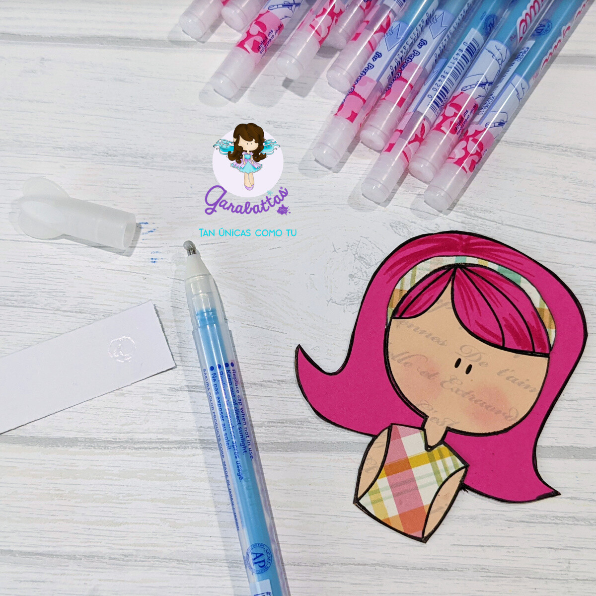 Pen roller glue