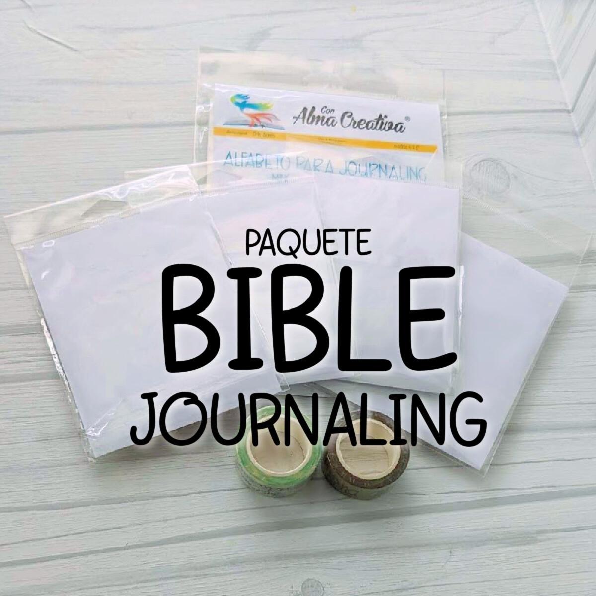 PAQUETE BIBLE JOURNALING