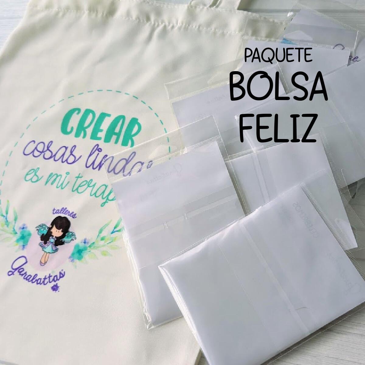 PAQUETE BOLSA FELIZ