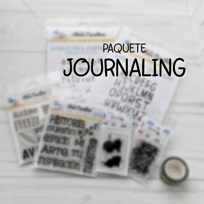 PAQUETE JOURNALING