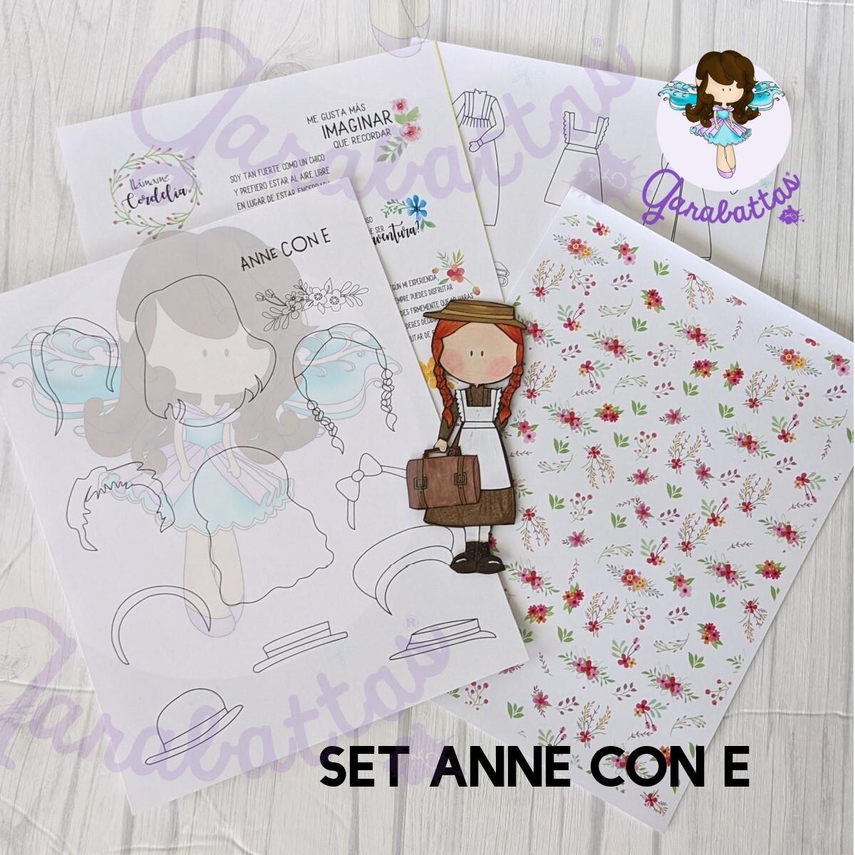 Set Anne con E