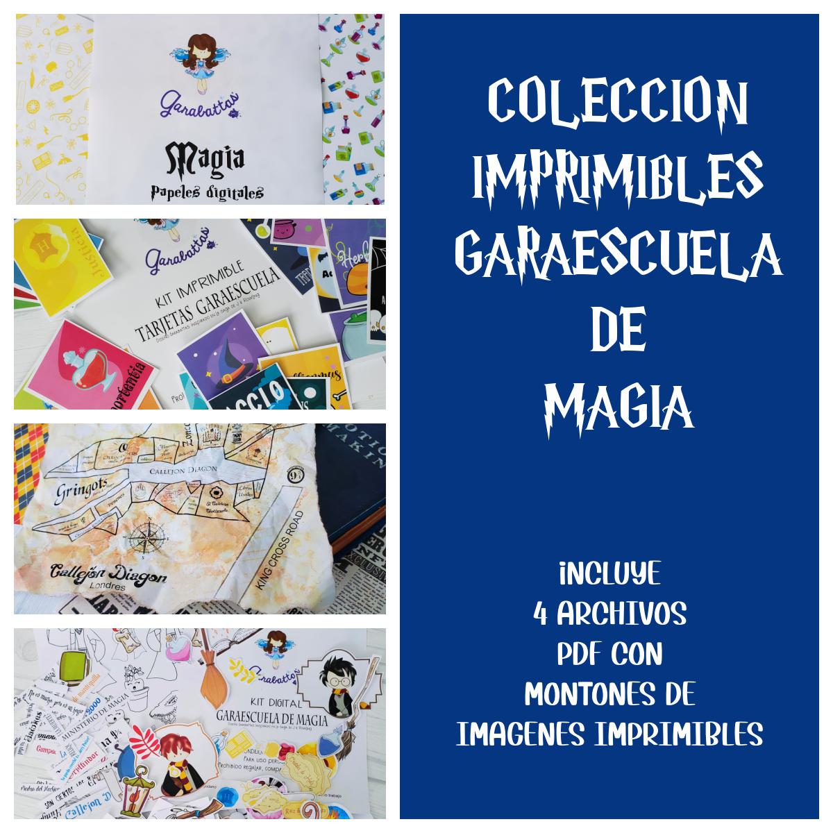 COLECCION IMPRIMIBLES GARAESCUELA