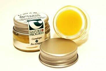 Baume à lèvres Miel, BIO Calendula (pot)