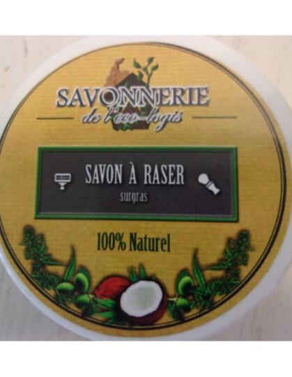 Savon à raser BIO  Savon surgras pour un rasage en douceur à l'argile verte, huile précieuse de chanvre et huiles essentielles antibactérienne !