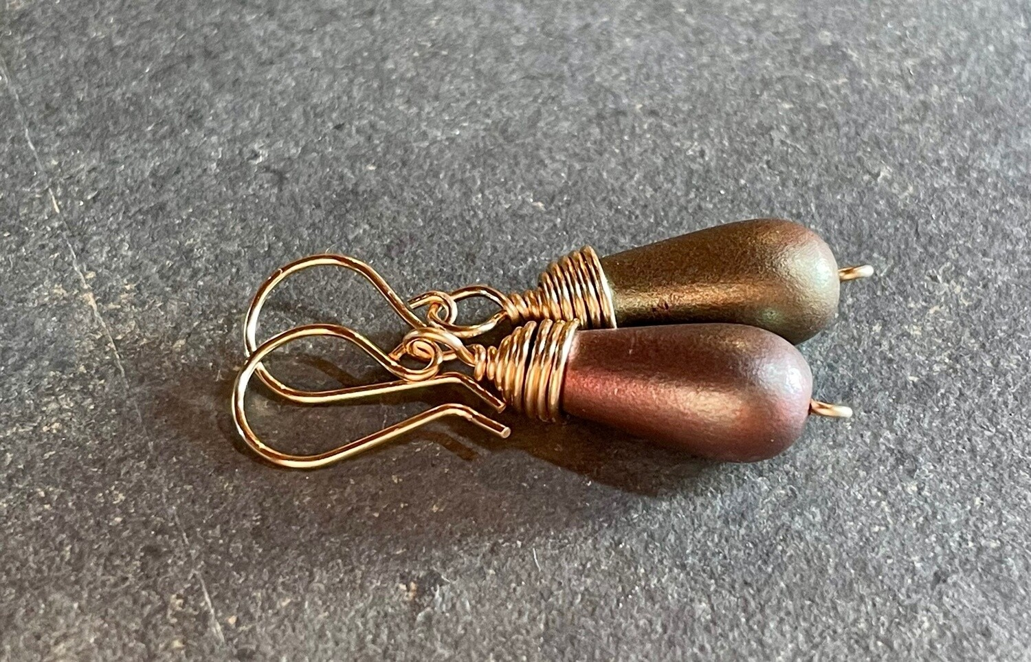 Wire Wrapped Tear drops