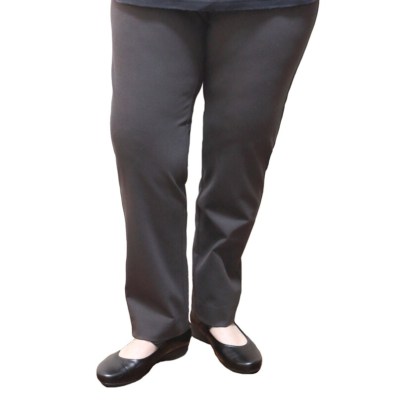 Straight Leg Bengaline Pull On Stretch Work Pants