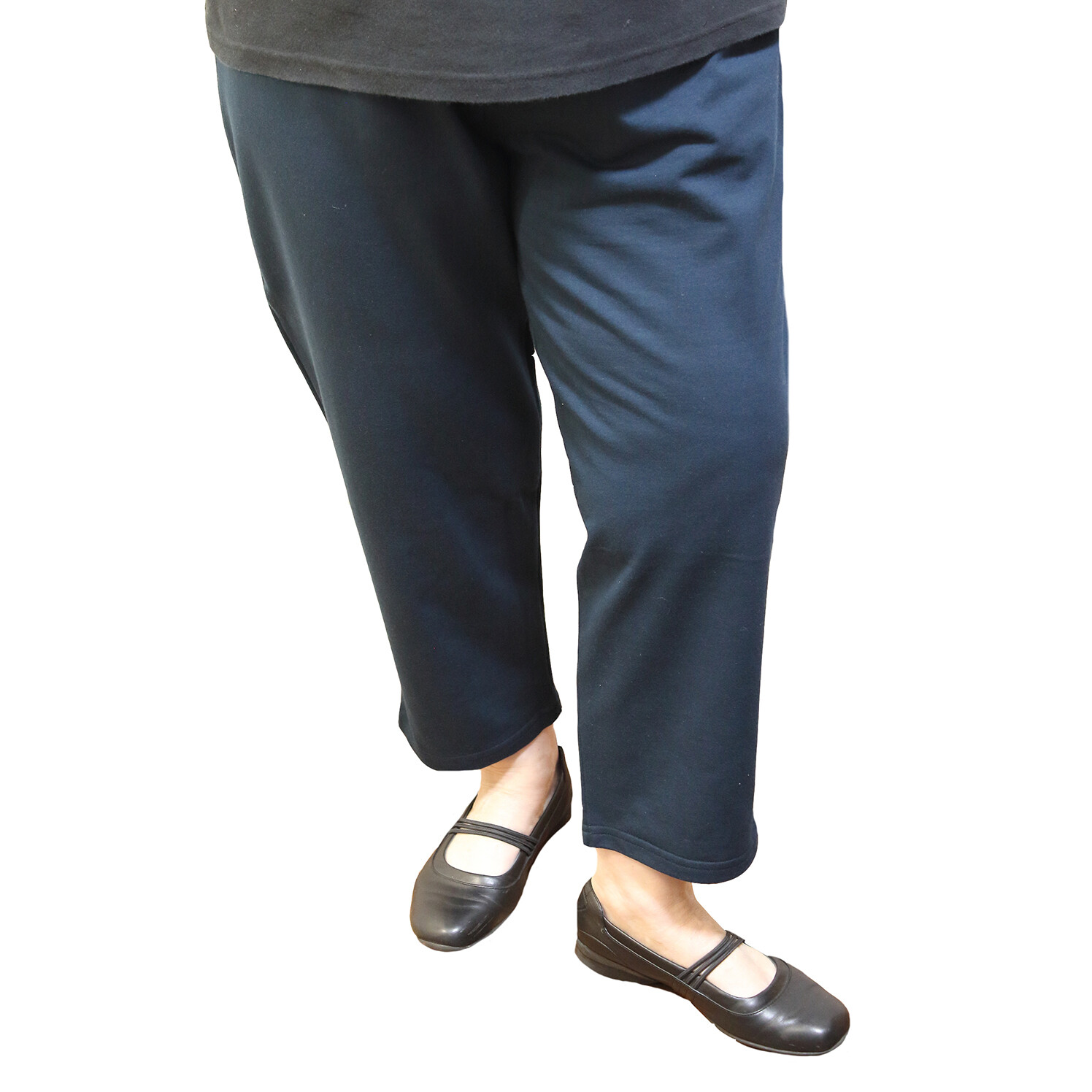3/4 Length Pure Cotton Knit Loose Leggings