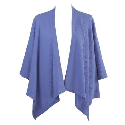 Waterfall Wrap Cotton Jacket