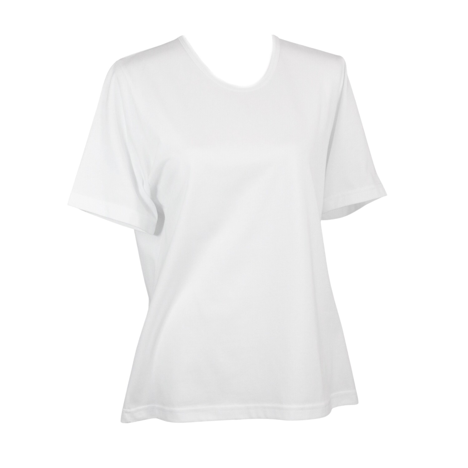 Soft Pure Cotton White Tee