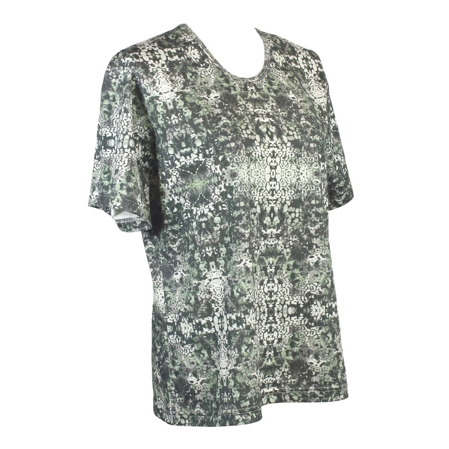 Pure Cotton Short Sleeve Print Tee