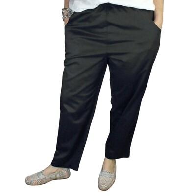 Pure Cotton Sateen Pants