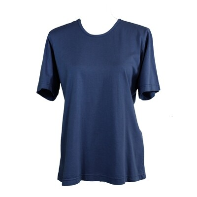 Soft Pure Cotton Navy Tee