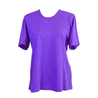 Soft Pure Cotton Purple Tee