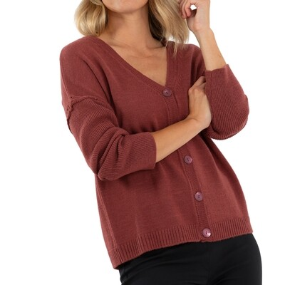 Relaxed Knit Cardigan by Marco Polo