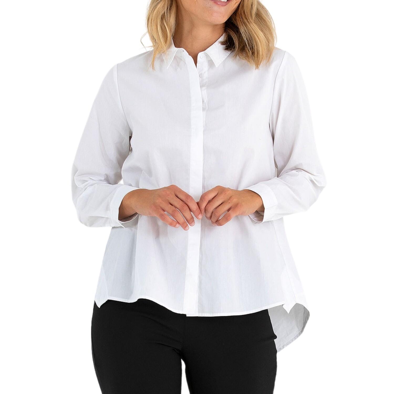 Hi Lo Long Sleeve Shirt by Marco Polo