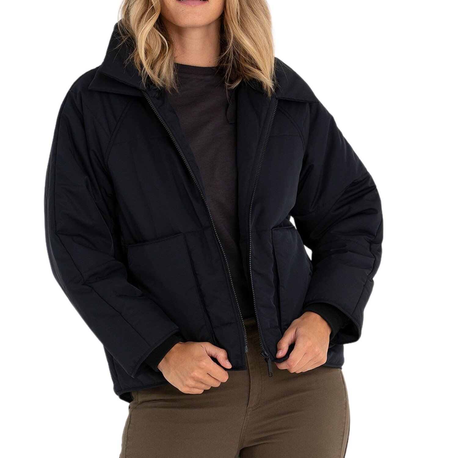 Relaxed Puffer Jacket by Marco Polo