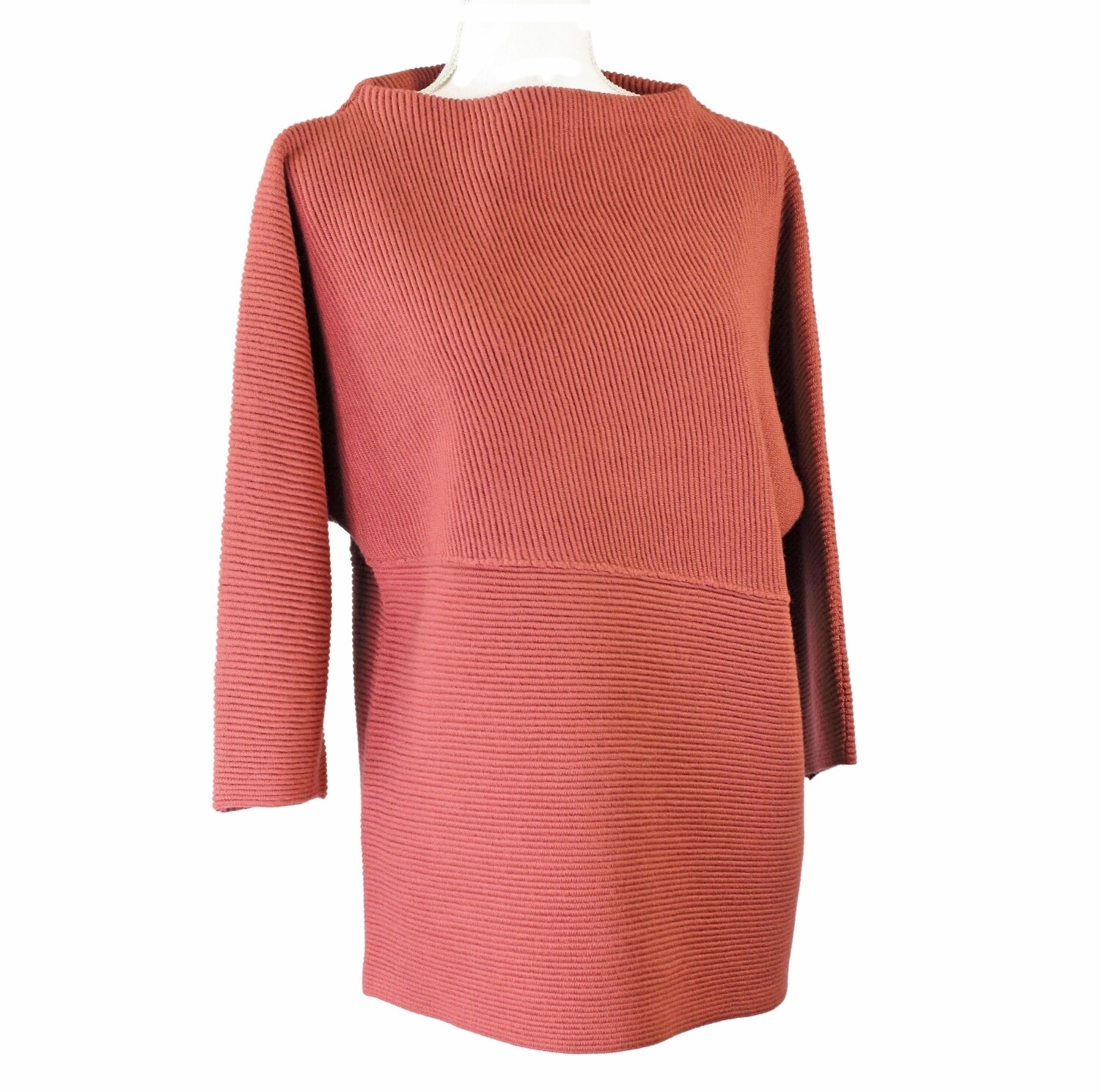Merino Wool Ribbed Jumper by See Saw
