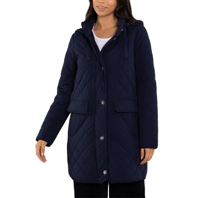 Quilted Showerpoof Jacket by Yarra Trail