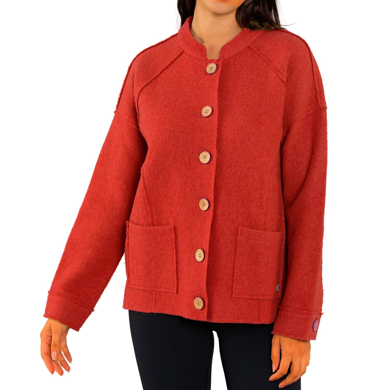 Crop Wool Jacket by Yarra Trail