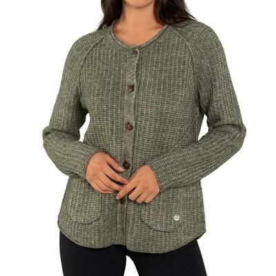 Ribbed Twist Knit Cardigan by Yarra Trail