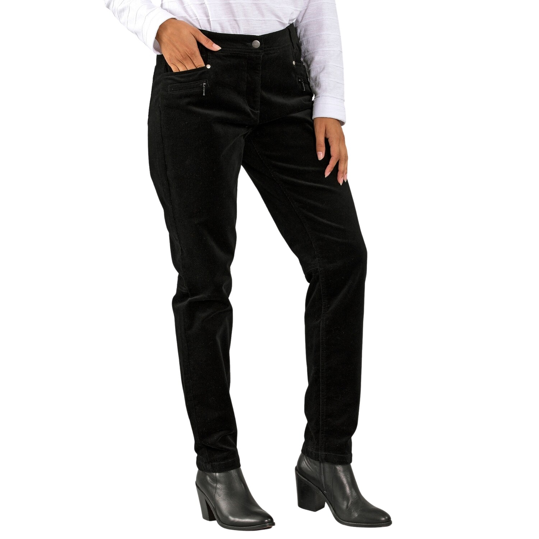 Slimline Cord Pants by Yarra Trail