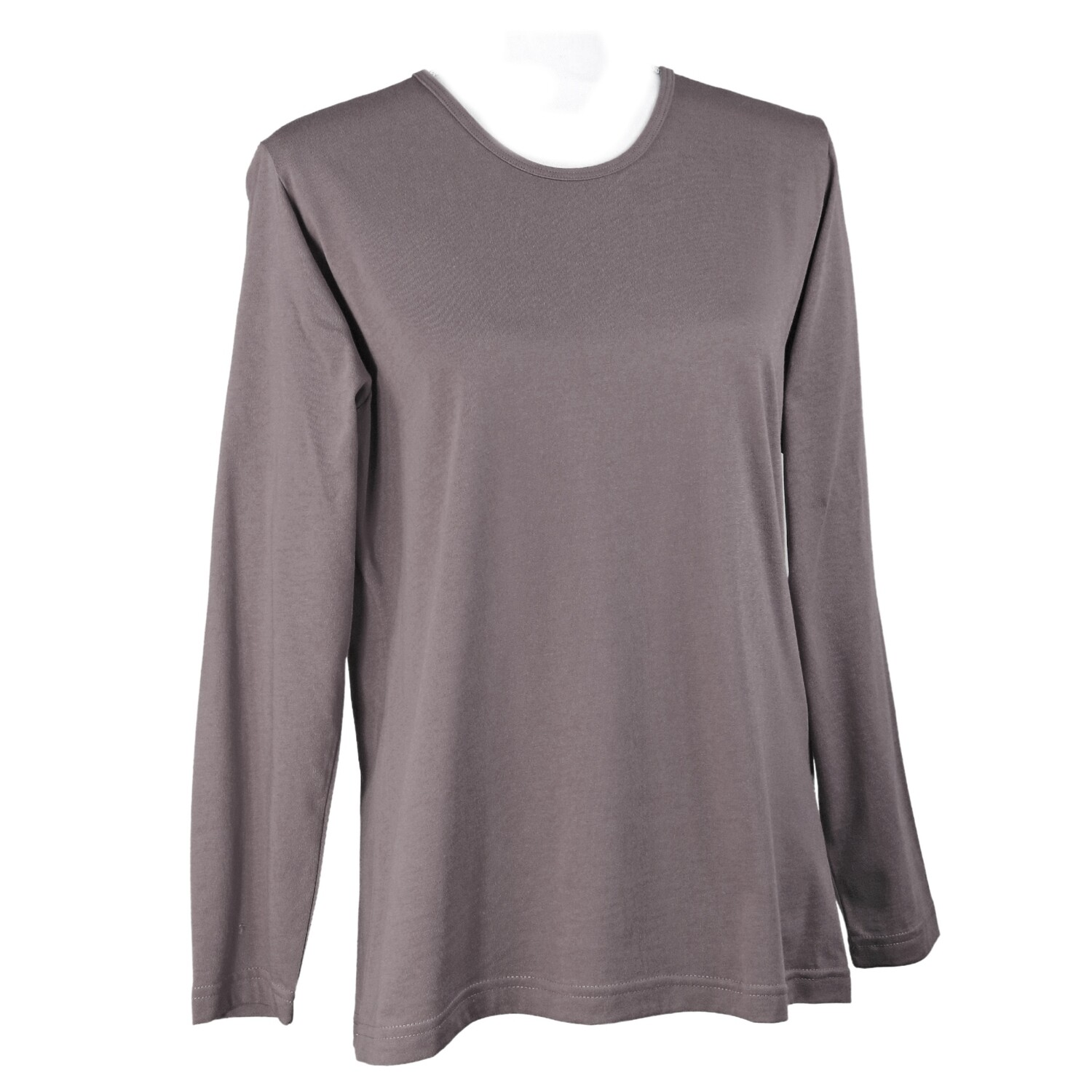Overdyed Long Sleeve Cotton Tee