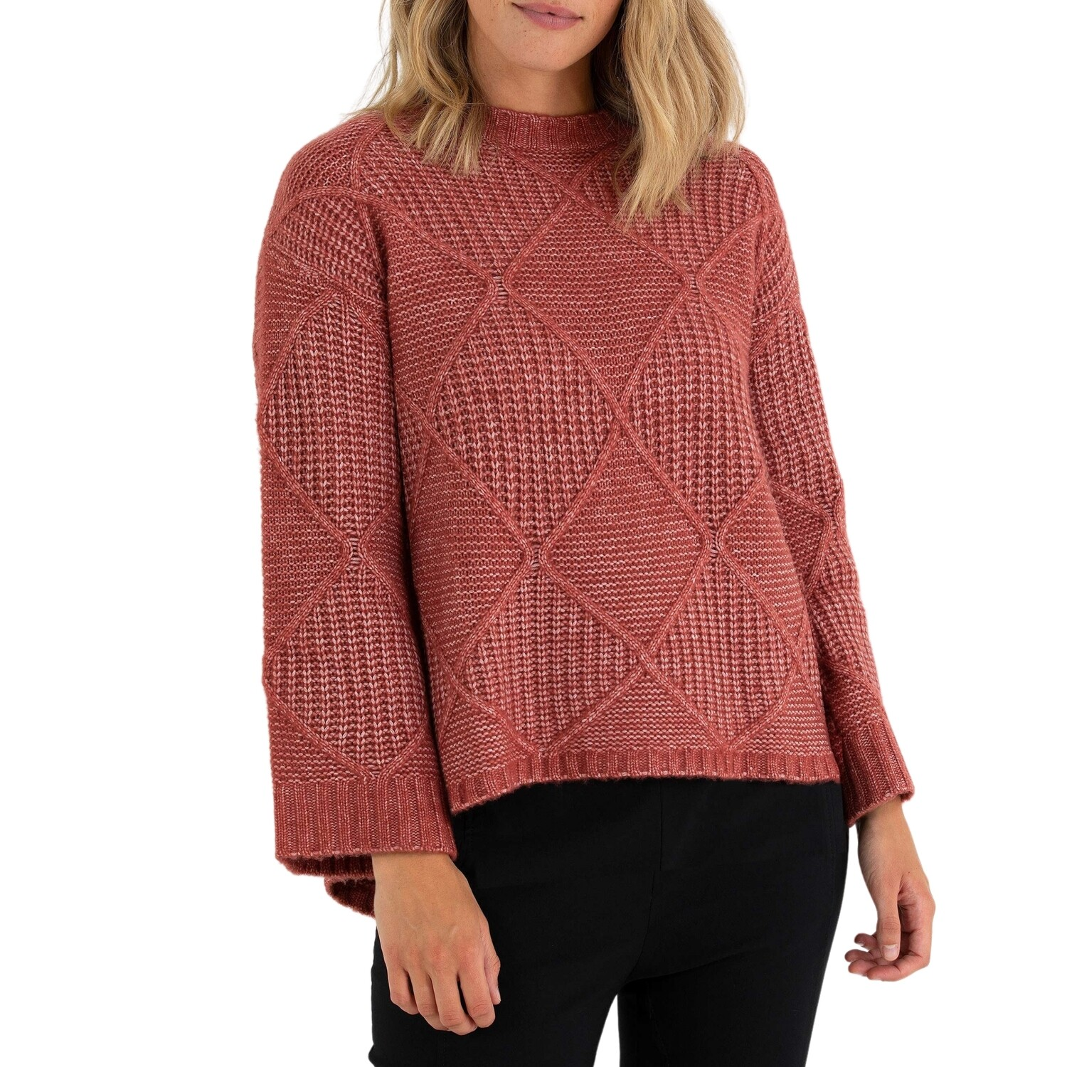 Cable Knit Jumper by Marco Polo