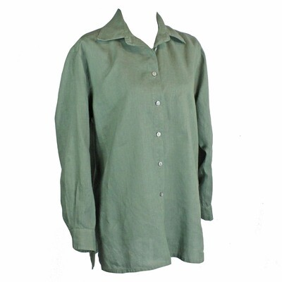 Relaxed Fit Pure Linen Shirt