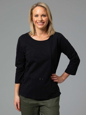 Panelled Tee by Yarra Trail