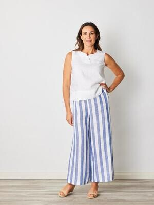 Pure Linen Palazzo Pants by See Saw