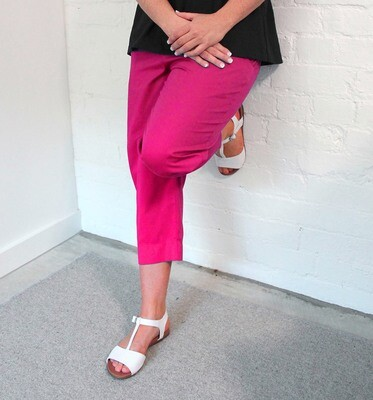 Pure Cotton Cropped Pants