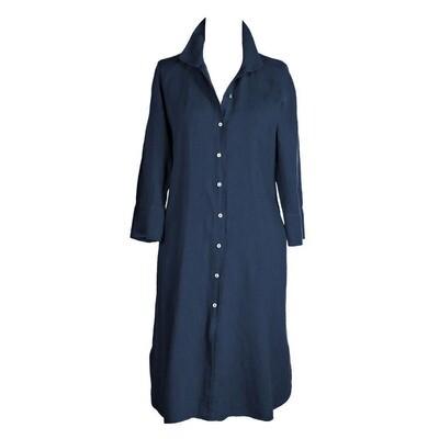Pure Linen Shirt Dress