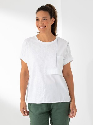 Short Sleeve Panel Tee by Marco Polo