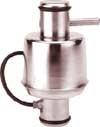 Sensortronics Model 65114 Stainless Steel, Single-Column Compression Load Cells