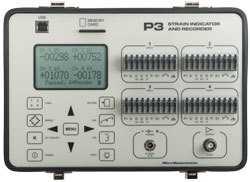 Vishay Model P3 Strain Indicator & Recorder