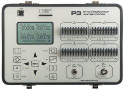 Vishay Model P3 Strain Indicator & Recorder
