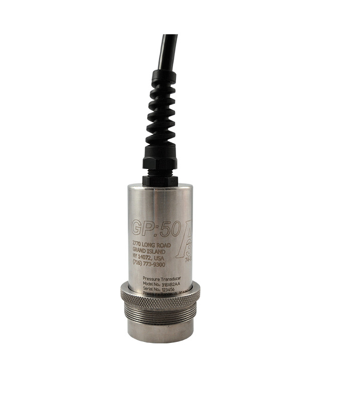 GP:50 Sanitary Flush Diaphragm Pressure Transducer/Transmitter Models 218, 318