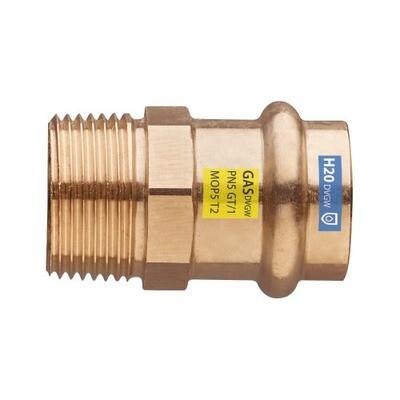ATTACCO 1/2 M X 18 PRESSARE ACQUA/GAS
