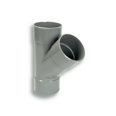 BRAGA D. 40 F/F 45° PVC