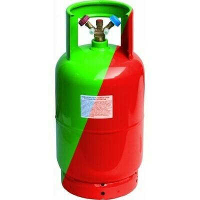 RICARICA GAS R410 IN BOMBOLA DA 10 KG