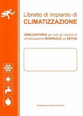 LIBRETTO D'IMPIANTO CLIMATIZZAZIONE MOD LC 39