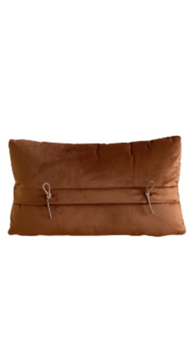 Almofada de rim rust