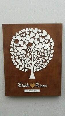 HEART TREE GUSESTBOOK