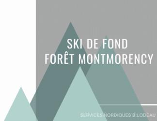 Ski de Fond Forêt Montmorency