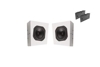 XTZ Cinema S2 Atmosphere Mattvit inkl 2st Flushmount Kit