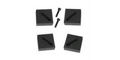 XTZ Aluminiumfot 4-pack